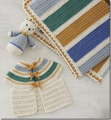 "9 Months to Crochet: Count Down to the Big Day with Crochet! – 25 ""BABY"" Collections/Projects to Make While You Wait - by Maaike Van Koert"