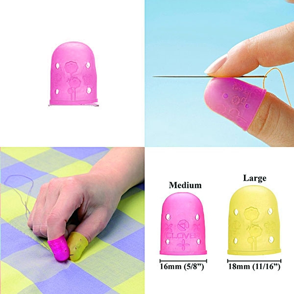 6031-clover-flexible-rubber-thimble-pink-medium