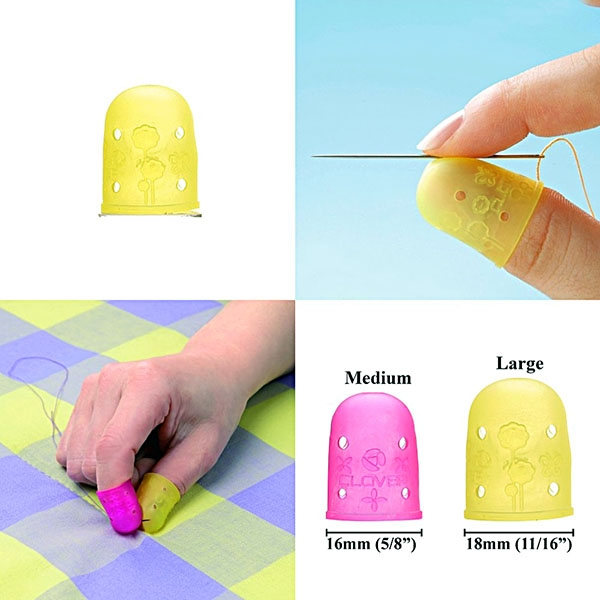 clover-flexible-rubber-thimble-large-yellow-2pc