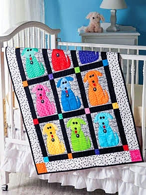 128640 - Quilted Cats & Dogs by Chris Malone: Learn Fun & Easy Applique - 13 Pet-Friendly Projects