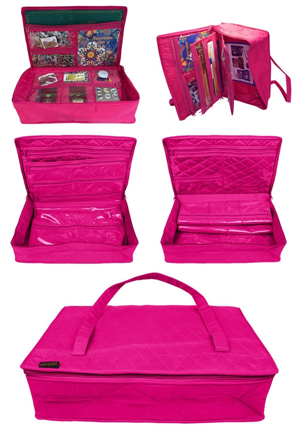 CA120-FUCHSIA-YAZZII-BAGS-CARRY-ALL
