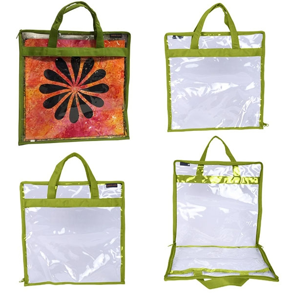 CA371-GREEN-YAZZII-BAGS-BLOCK-CARRY-CASE