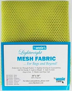 by-annies-green-apple-mesh-fabric